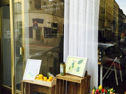 Unser Schaufenster im Februar – Zitronig!!!